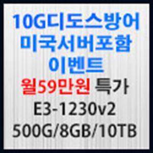 Picture of  10G 디도스방어 서버포함 월59만원 특가
