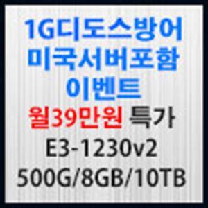 Picture of 1G 디도스방어 서버포함 월39만원 특가