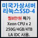 Picture of 미국가상서버 리눅스SSD-4