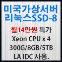 Picture of 미국가상서버 리눅스SSD-8