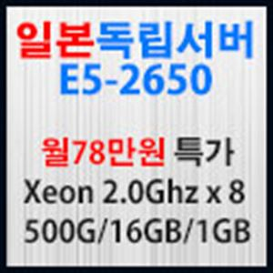 Picture of 일본서버 E5-2650