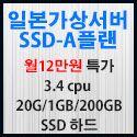 Picture of  일본가상서버-SSD-A/월12만원