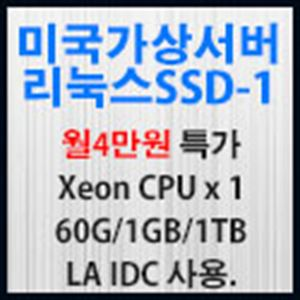 Picture of 미국가상서버 리눅스SSD-1