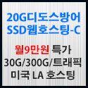 Picture of 20GB 디도스방어 SSD미국웹호스팅-C