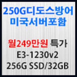 Picture of 250G  디도스방어 서버포함 월249만원 특가
