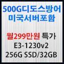 Picture of 500G  디도스방어 서버포함 월249만원 특가