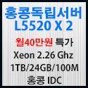 Picture of 홍콩서버 L5520 x 2 cpu