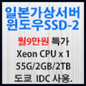 Picture of 일본가상서버 윈도우 SSD-2