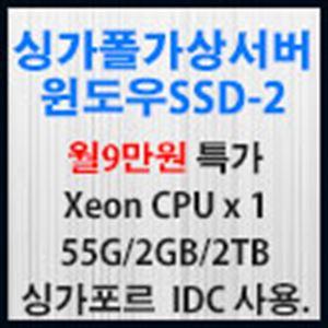 Picture of 싱가포르가상서버 윈도우 SSD-2