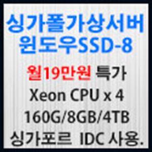 Picture of 싱가포르 가상서버 윈도우 SSD-8