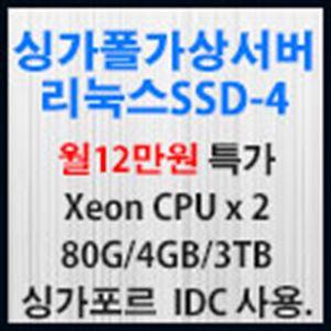 Picture of 싱가포르 가상서버 리눅스 SSD-4