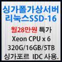 Picture of 싱가포르 가상서버 리눅스 SSD-16