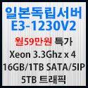 Picture of 일본쿼드코어서버 E3-1230V2